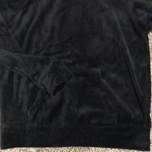 Ambiance Sweaters - Black velour sweater